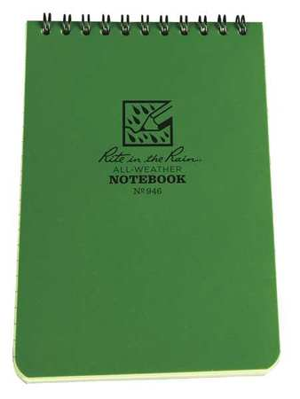All Weather Memo Book, Universal, 4 x 6In.