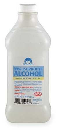 Rubbing Alcohol, Bottle, 16 oz.