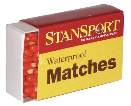 Waterproof Matches, PK40