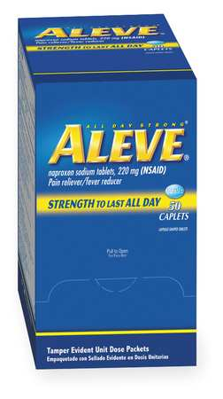 Aleve(R) Naproxen, Tablet, 220mg, PK50
