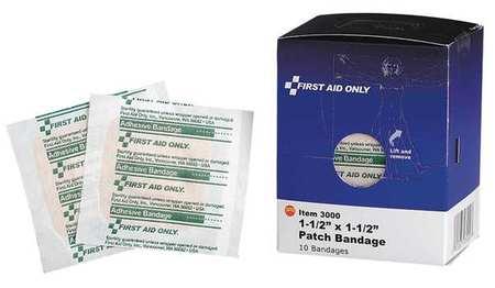 Bandage, Plastic, 1-1/2 In L, PK10