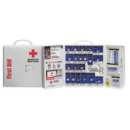 First Aid Kit, Unitized, 206Pcs