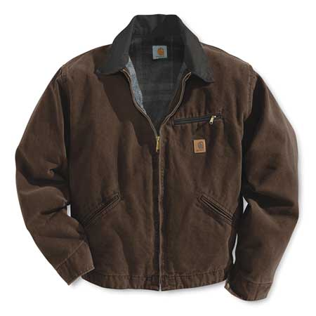Jacket, Insulated, Brown, M