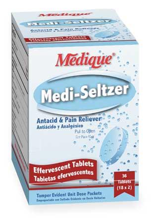 Buffered Aspirin and Antacid, Tablet, PK36