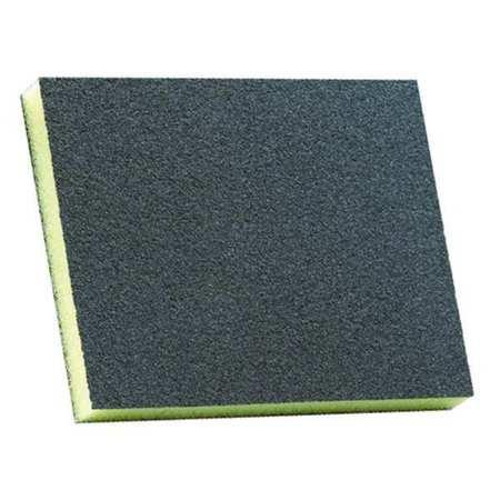 Sanding Sponge, Fine, 4-3/4x3-3/4x1/2 In