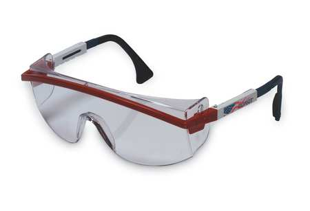 Honeywell Clear Safety Glasses,  Scratch-Resistant