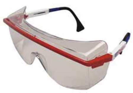 Honeywell Clear Safety Glasses,  Anti-Fog,  OTG