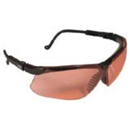 Honeywell SCT-Vermilion Safety Glasses,  Anti-Fog,  Wraparound