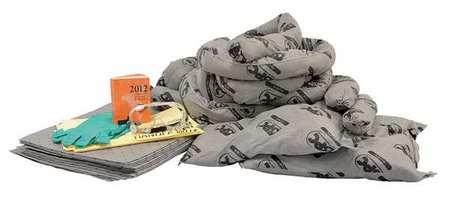 Spill Kit Refill,  Universal,  Gray