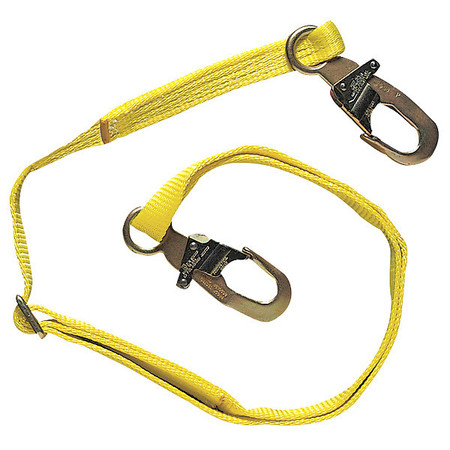 Restraint Lanyard, 6 ft., 310 lb., Nylon