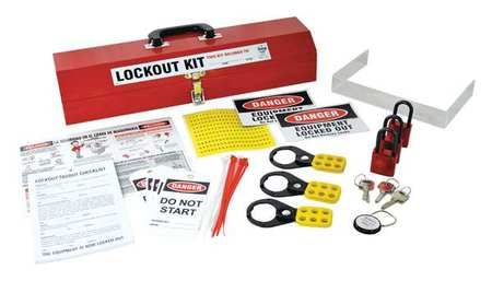 Portable Lockout Kit, Electrical/Valve, 19