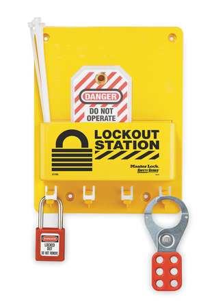 Lockout Station, Filled, Elctrcl, Keyed Dff