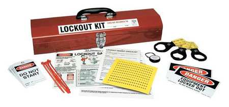 Portable Lockout Kit, Filled, 67Components