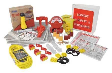 Portable LockoutKit, Electrical/Valve, 127