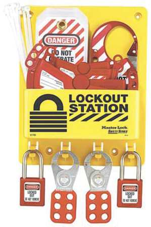 Lockout Station, Filled, Keyed Diff