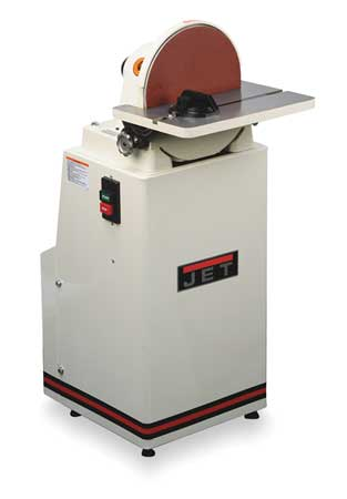 Disc Sander, 12 In, 1-1/2 HP, 1960 RPM