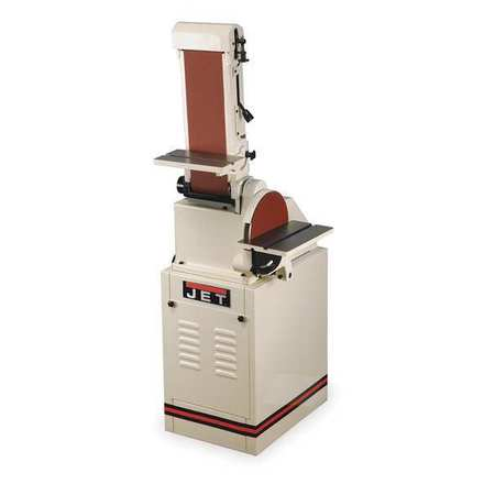 Belt/Disc Sander, 10 In Disc, 6 x 48 Belt