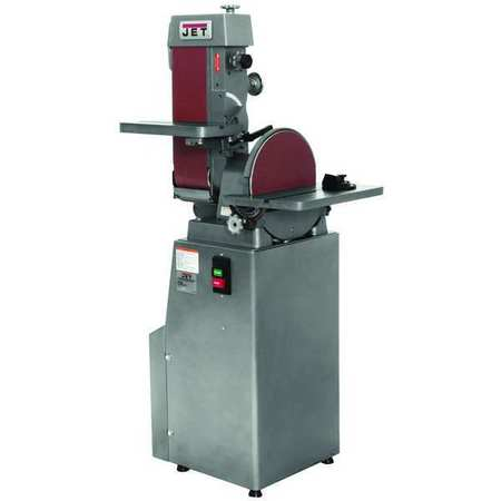 Belt/Disc Sander, 12 In Disc, 6 x 48 Belt
