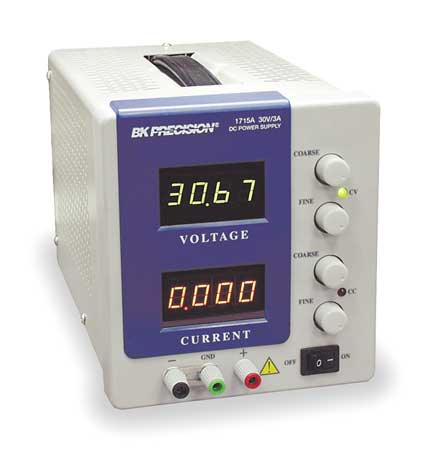 Power Supply, 0-60Vdc, 0-2 A, Digit Display