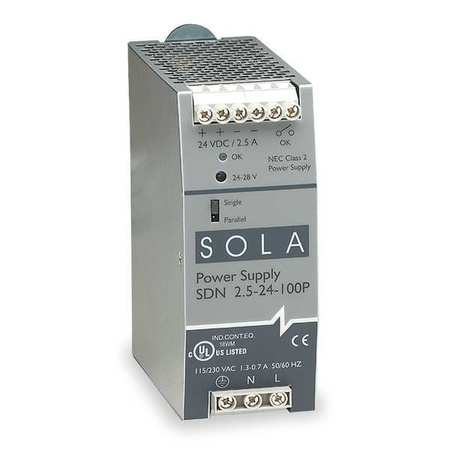 SDN Series Power Supplies (DIN Mounted)