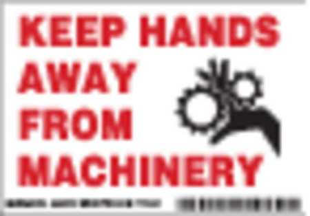 Machine/Equipment Label, Instruction, PK5