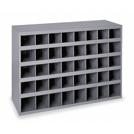 Bin Unit, 40 Bins, 33-3/4x12x23-7/8 In.