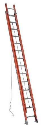 Extension Ladder, Fiberglass, 28 ft., IA