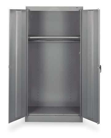 Wardrobe Storage Cabinet, Gray