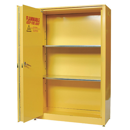 flammable safety cabinet 45 gal yellow
