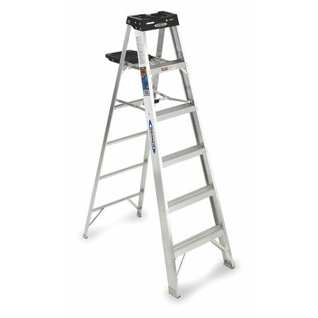 6' Aluminum 300 lb. Stepladder,  Type IA