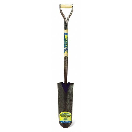 Drain Spade, 27 In Handle, 5-1/2 In Blade