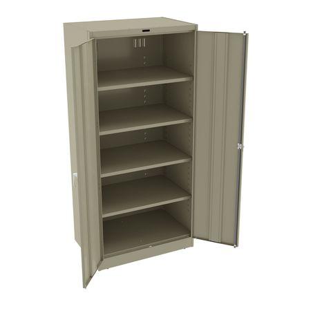 Storage Cabinet, Unassembled, Sand