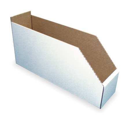 Corrugated Shelf Bin, 200 lb., 6-1/4 In. W