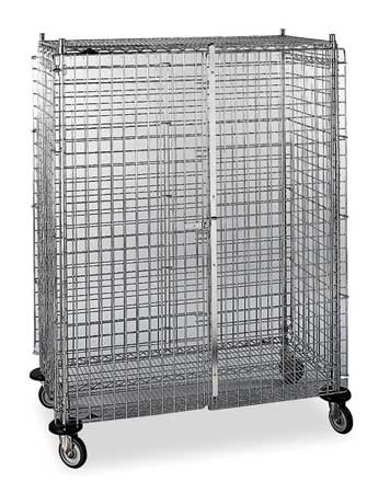 Wire Security Cart, 900 lb., 48 In. L