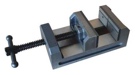 Drill Press Vise, Fixed Base, 4 in. Jaw W.