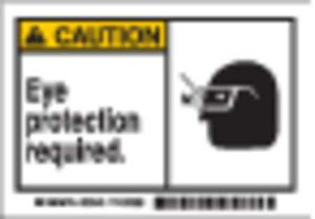 Equipment Label, English, 5 In. W, PK5