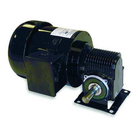AC Gearmotor, 55 rpm, TEFC, 115/230V