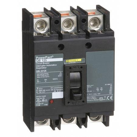 3P Standard Circuit Breaker 125A 240VAC