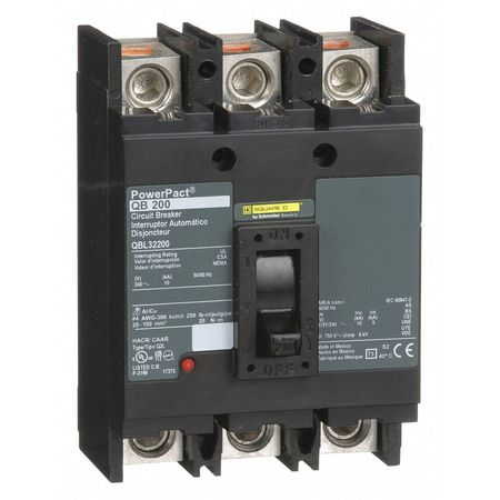 3P Standard Circuit Breaker 200A 240VAC