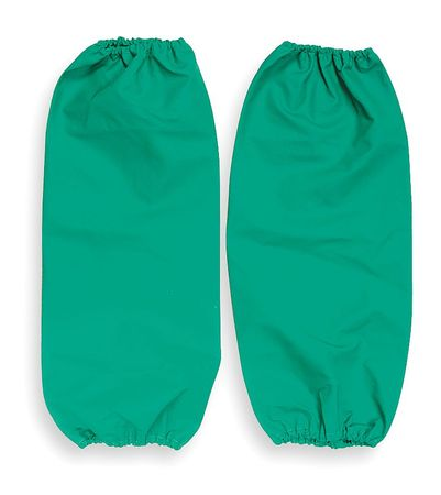 Sleeves, 18In. L, PVC, Green, PR