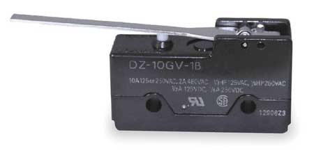 Snap Switch, 10A, DPDT, Hinge Lever,  Low OT