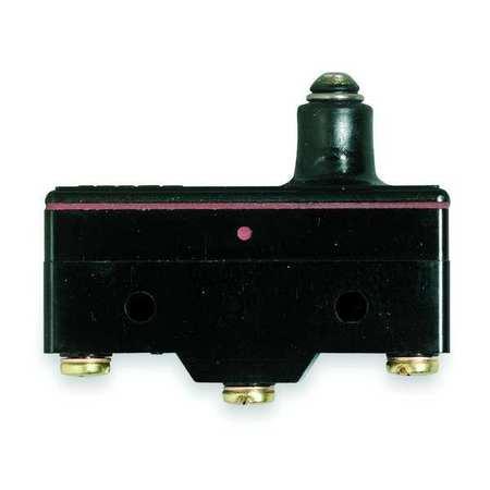 Snap Switch, 15A, SPDT, Slim Spring Plunger