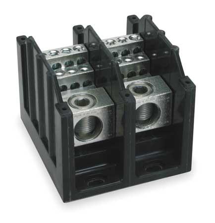Pwr Dist Block, 310A, 2P, 12P Secndary, 600V