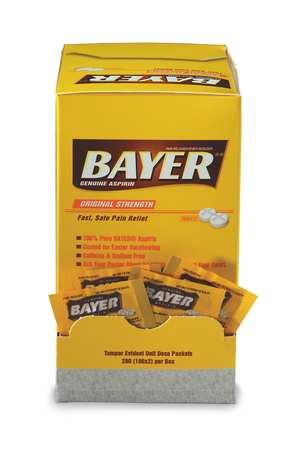 Bayer(R) Aspirin, Tablet, 325mg, PK200
