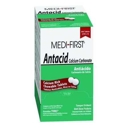 Antacid, Chewable Tablet, 420mg, PK500