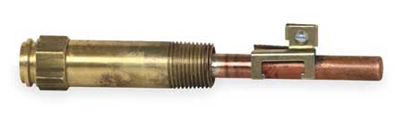 Immersion Well, Copper, 1/2NPT, 3 in. Depth
