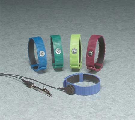 Wrist Strap,  Adj,  Thermoplastic Band