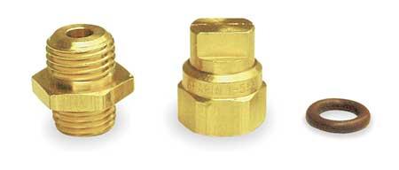 Nozzle, Brass, 0.5 gpm