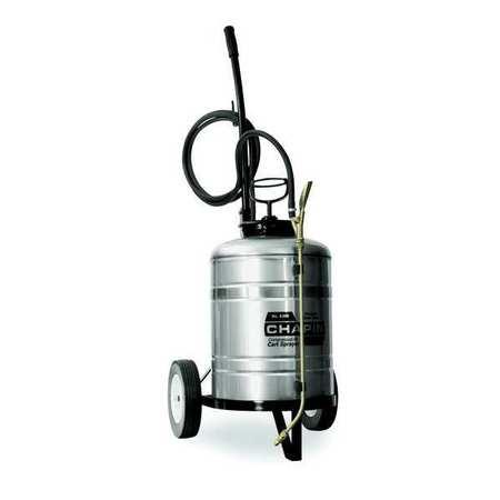 6-Gallon Stainless Steel Cart Sprayer