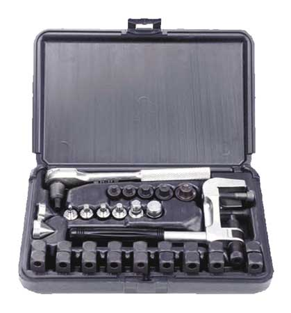 Flaring/Swaging Tool, 24 Pc, 37, 45 Deg